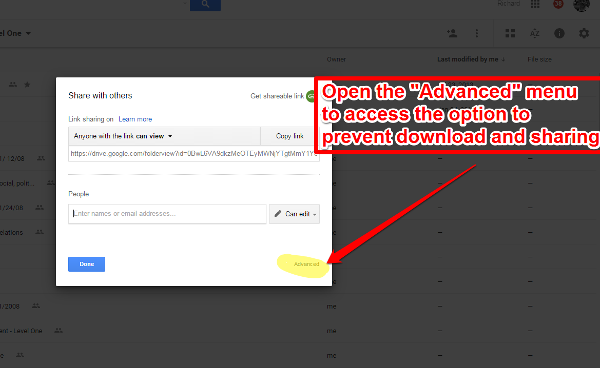 How to Prevent Downloading of Shared Google Docs Free