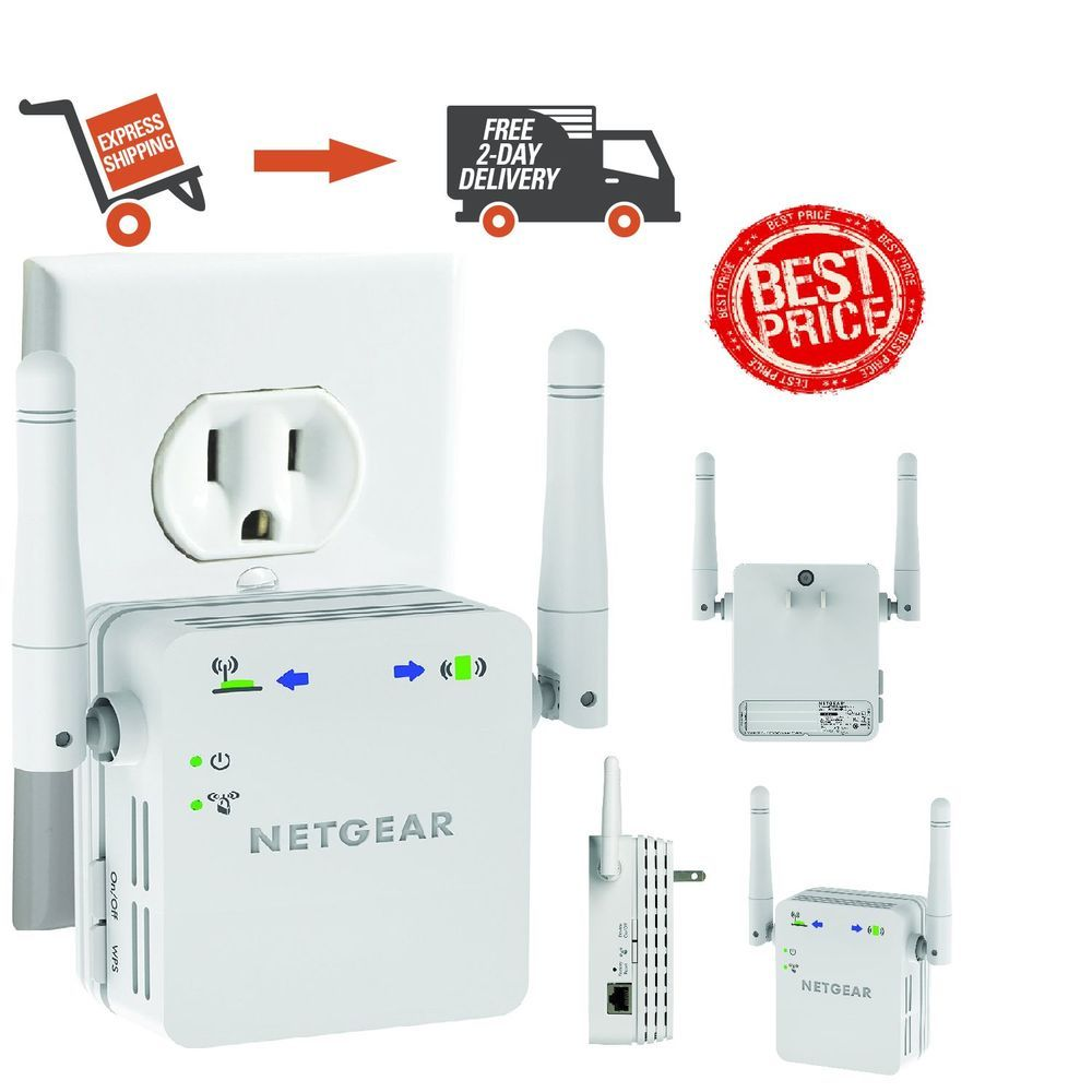 WN3000RP NETGEAR N300 Wall Plug Version Wi-Fi Range Extender