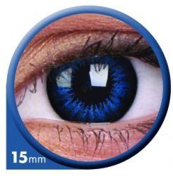 Koel Blauw Big Eyes contactlens
