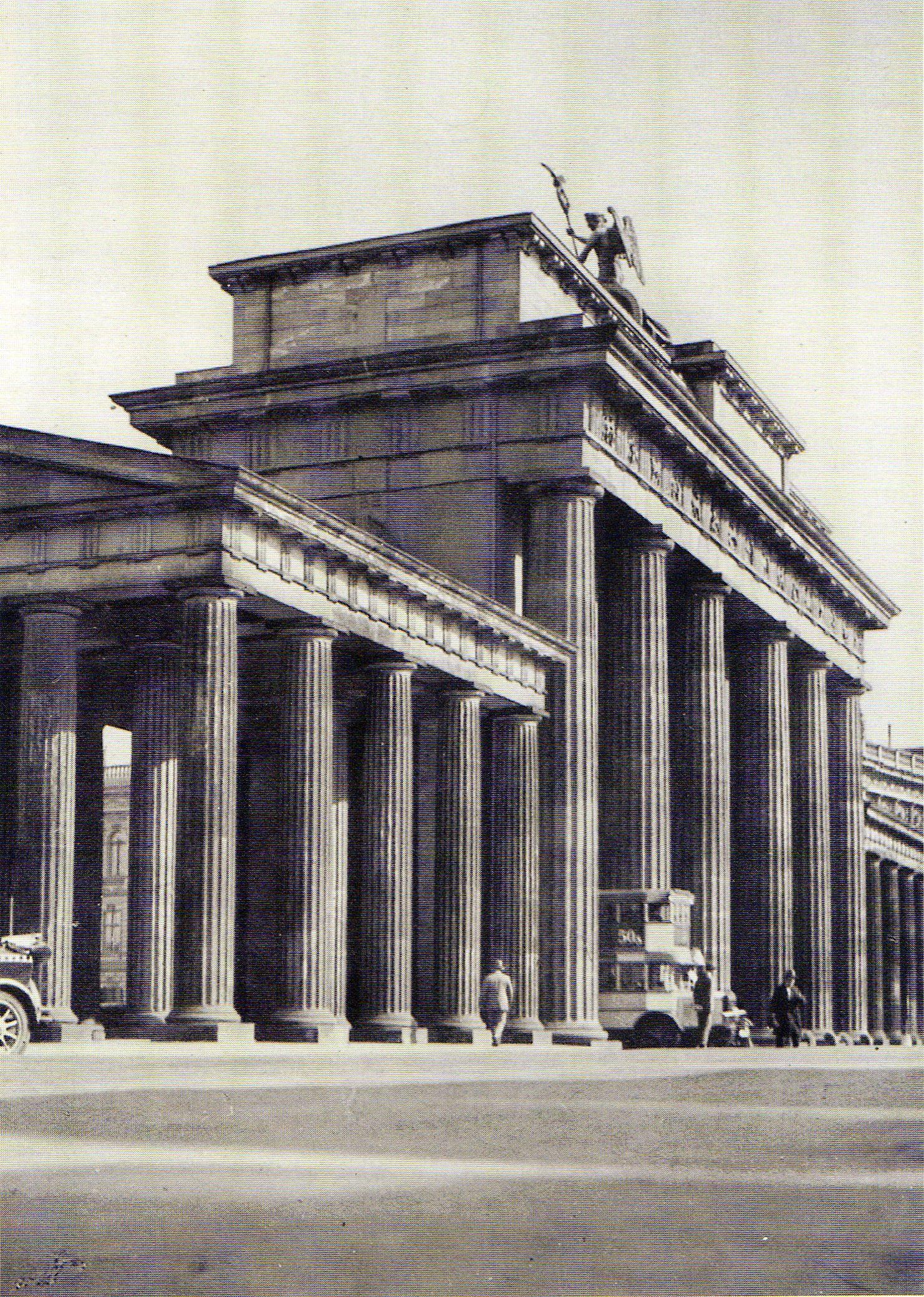 Sasha Stone Berlin Brandenburger Tor Um 1929 Brandenburger Tor Neue Wache Berlin