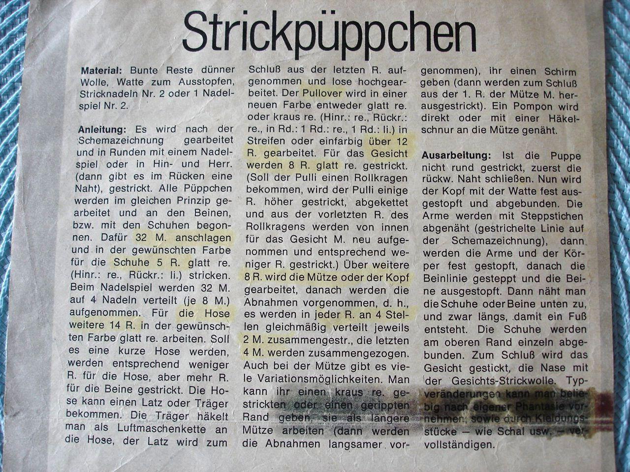Photo of Strickpüppchen2