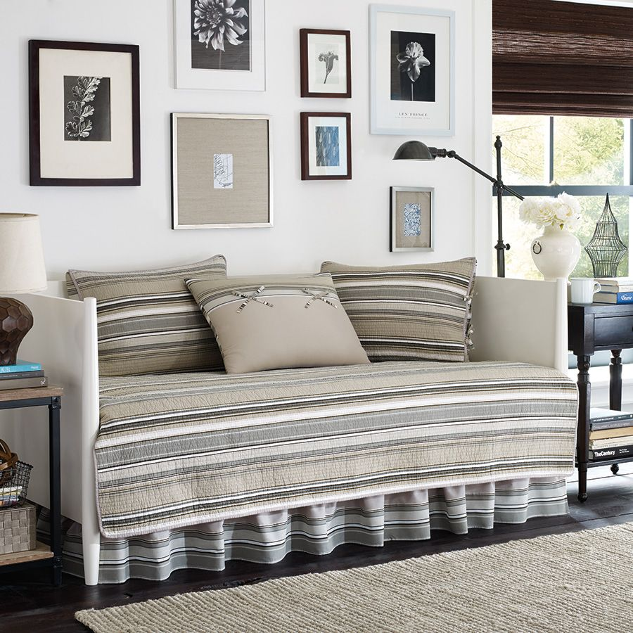 Stone cottage fresno neutral daybed office pinterest