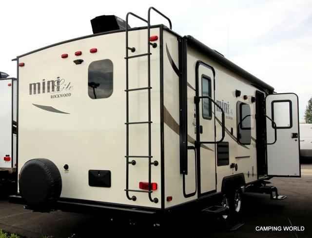 2016 New Forest River Rockwood Mini Lite 2502KS Travel
