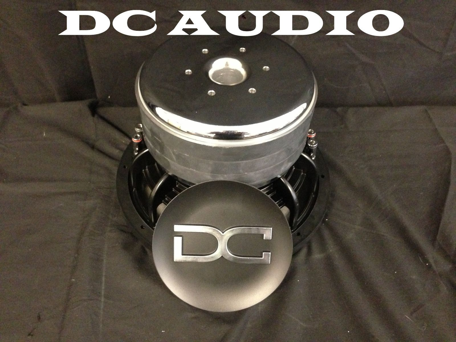 Dc Audio Level 4 10 1 Ohm Dual Voice Coil Subwoofer 1400 2800 Watt Sub Wiring In Addition New Ebay