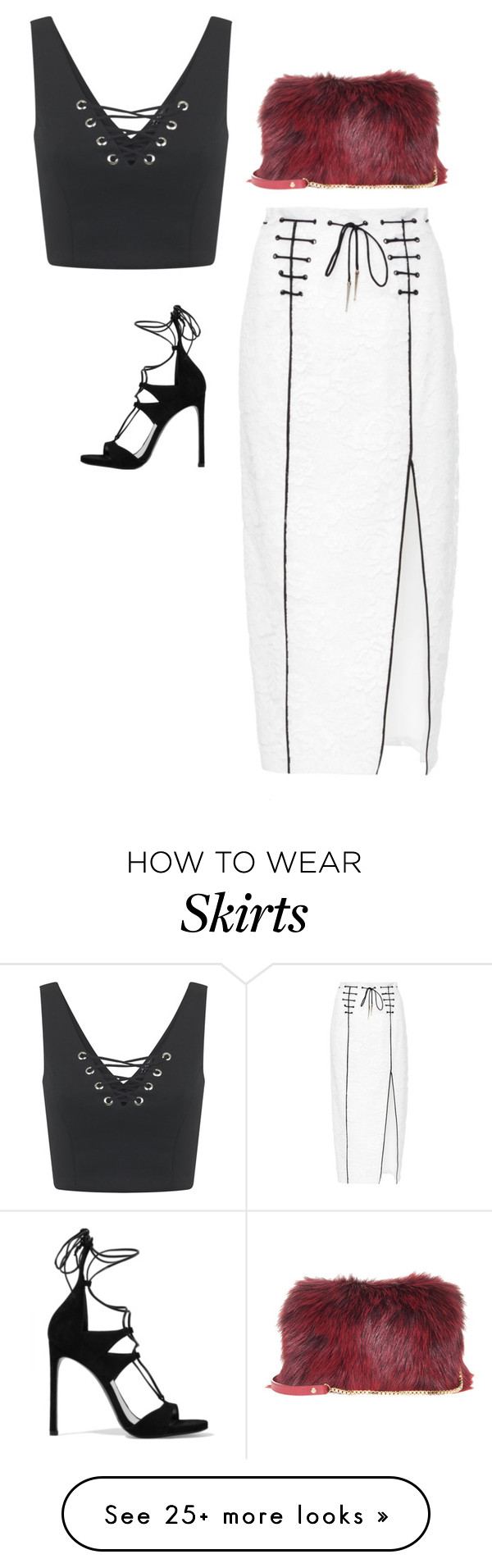 """""""Untitled #468"""" by bareluxe on Polyvore featuring Miss Selfridge, Houghton, Elie Saab and Stuart Weitzman"""