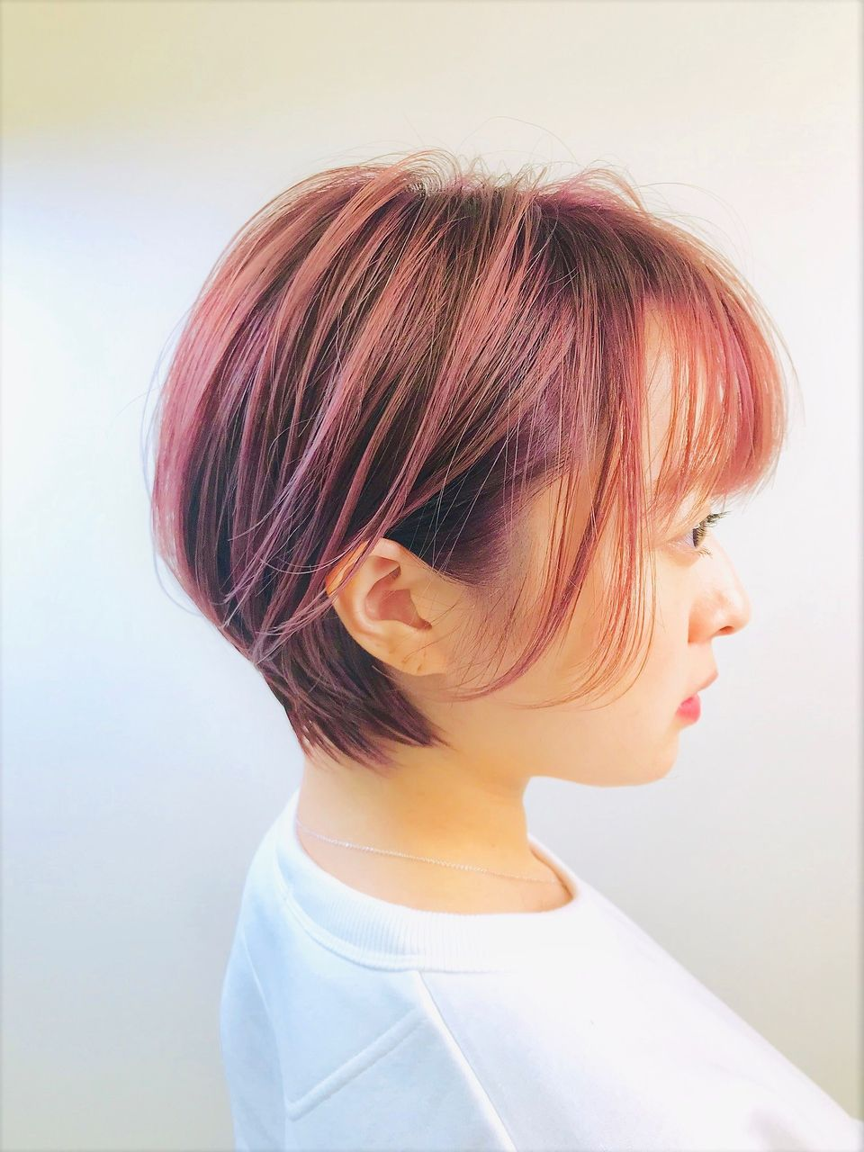 ハンサムショート ショートヘア カジュアル シンプル 髪色 髪型 2019