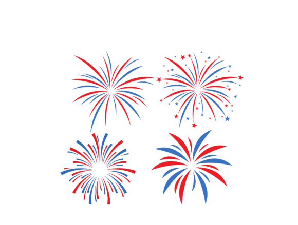 4th Of July Fireworks Graphic By Svgplacedesign Creative Fabrica 4th Of July Fireworks Fireworks Svg Free Printable Clip Art