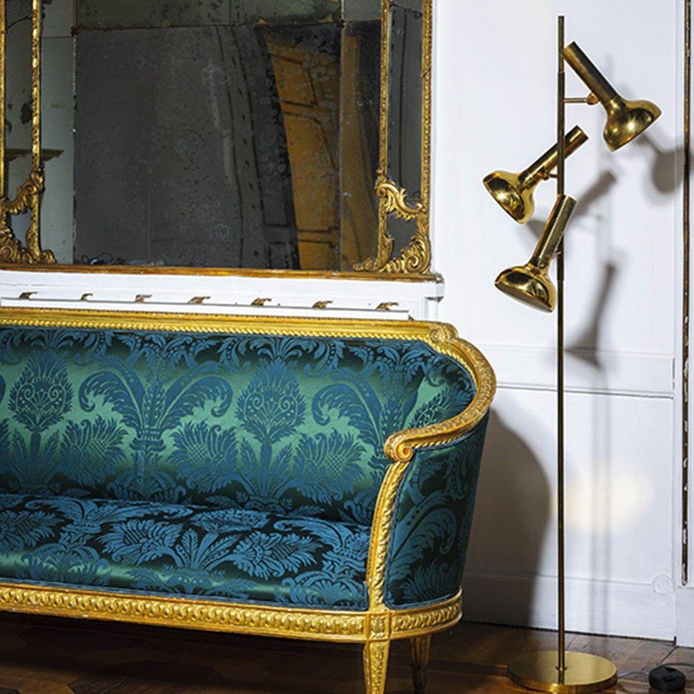 Pure damask by dedar a precious jacquard velvet hand woven the