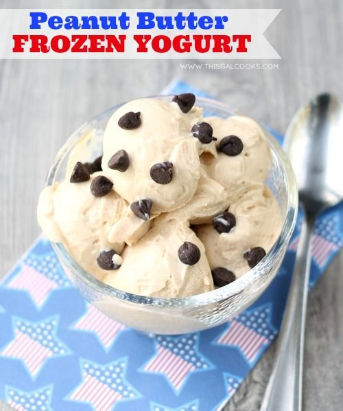 Butter Frozen Yogurt Peanut Butter Frozen Yogurt from  wmPeanut Butter Frozen Yogurt from  wm