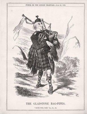 1886 Gladstone Scottish Irish Home Rule Bagpipes | Bagpipes
