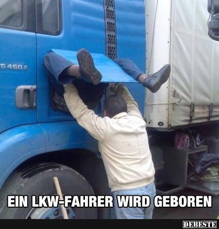 Lustige Lkw Fahrer Bilder