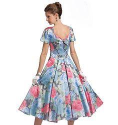 meilleur pas cher 4df12 bc7ed patron couture gratuit robe année 50   ○○○○ Mary ...