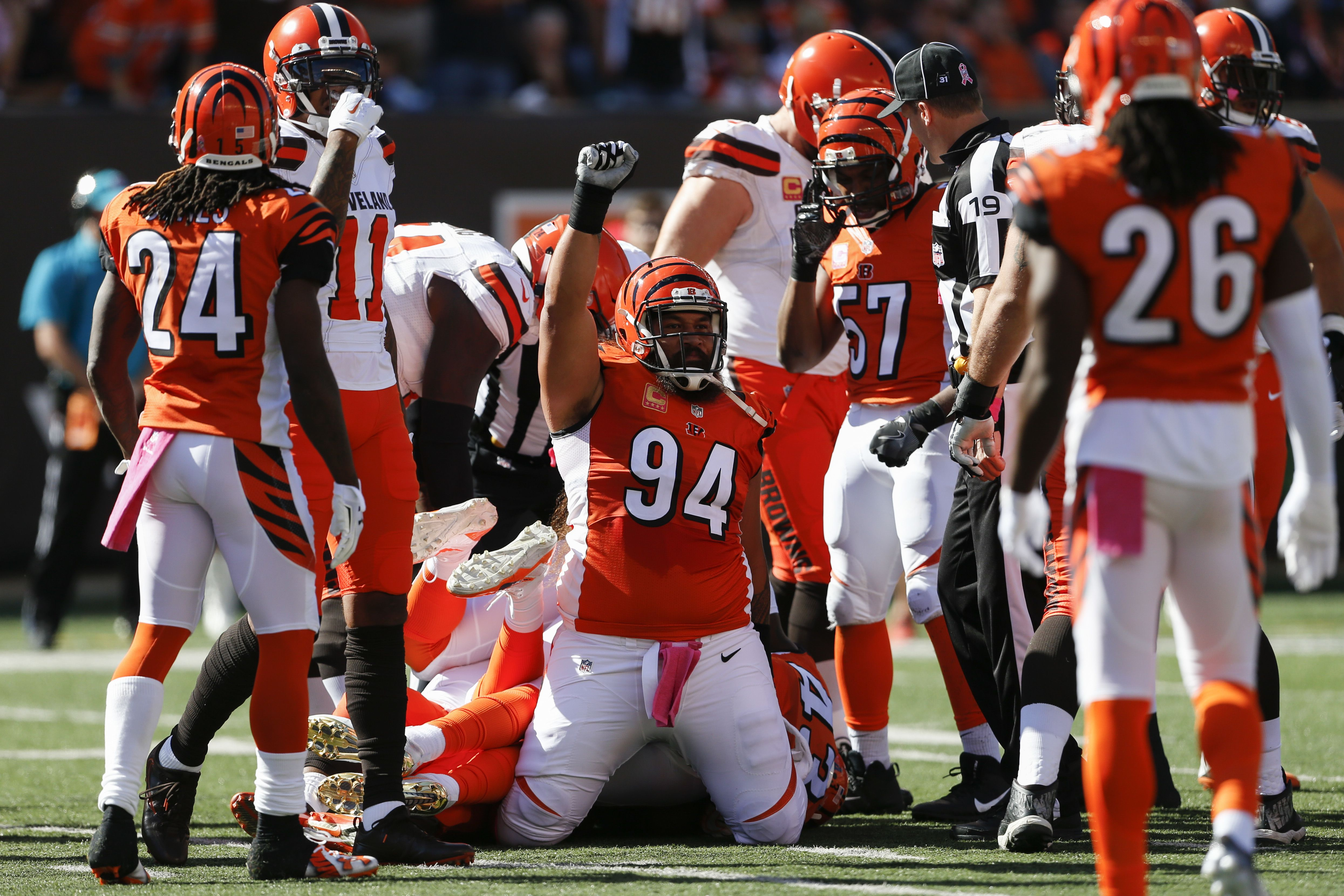 Victory for the Bengals in Week 7! (AP/Landers) (With