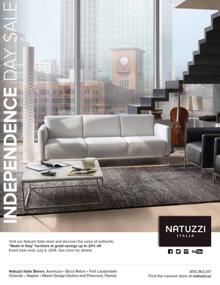 Visit Our Natuzzi Italia Stores And Discover The Value Of Authentic