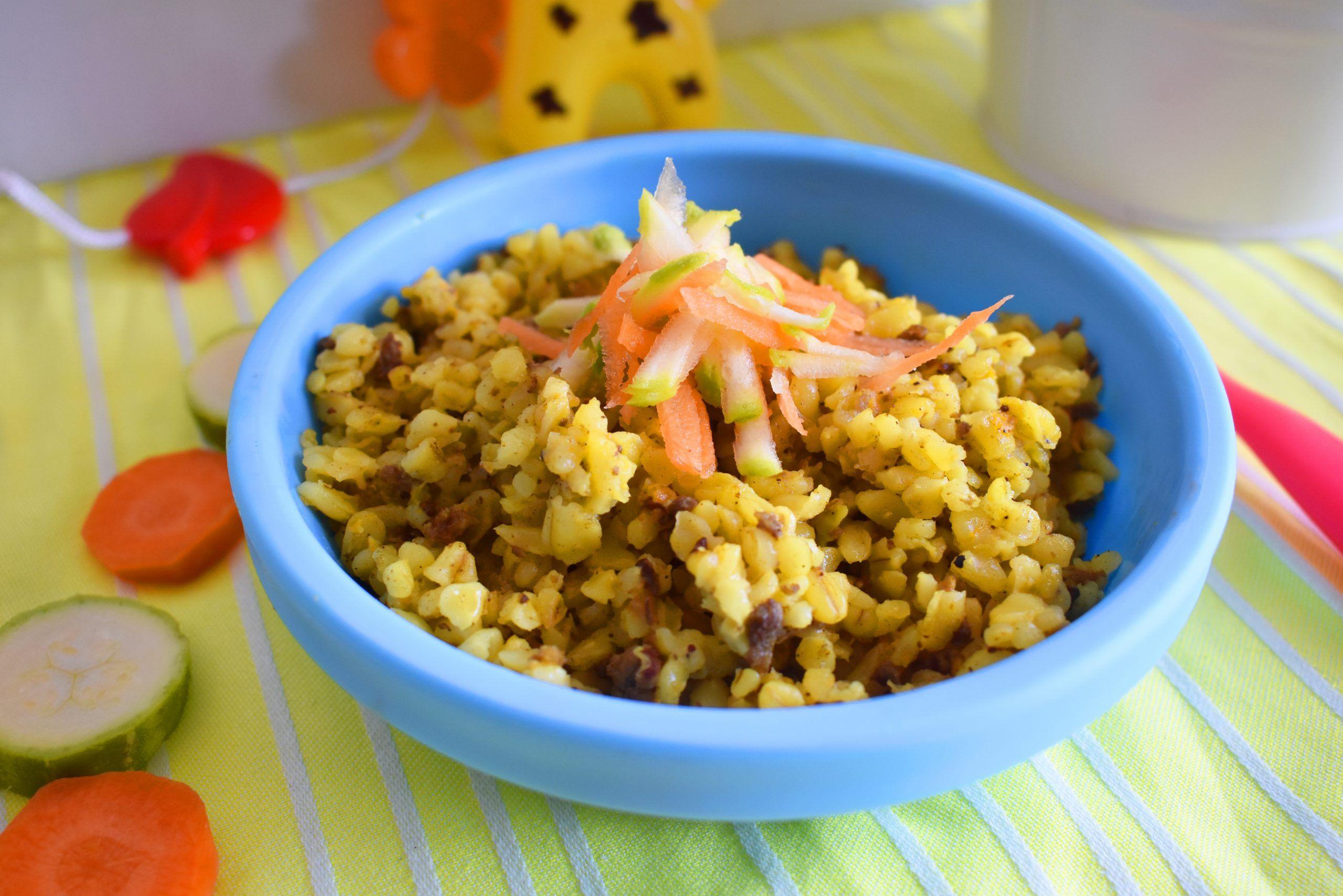 4 وجبات مبتكرة لطعام الطفل في عمر السنة Food Grains Rice