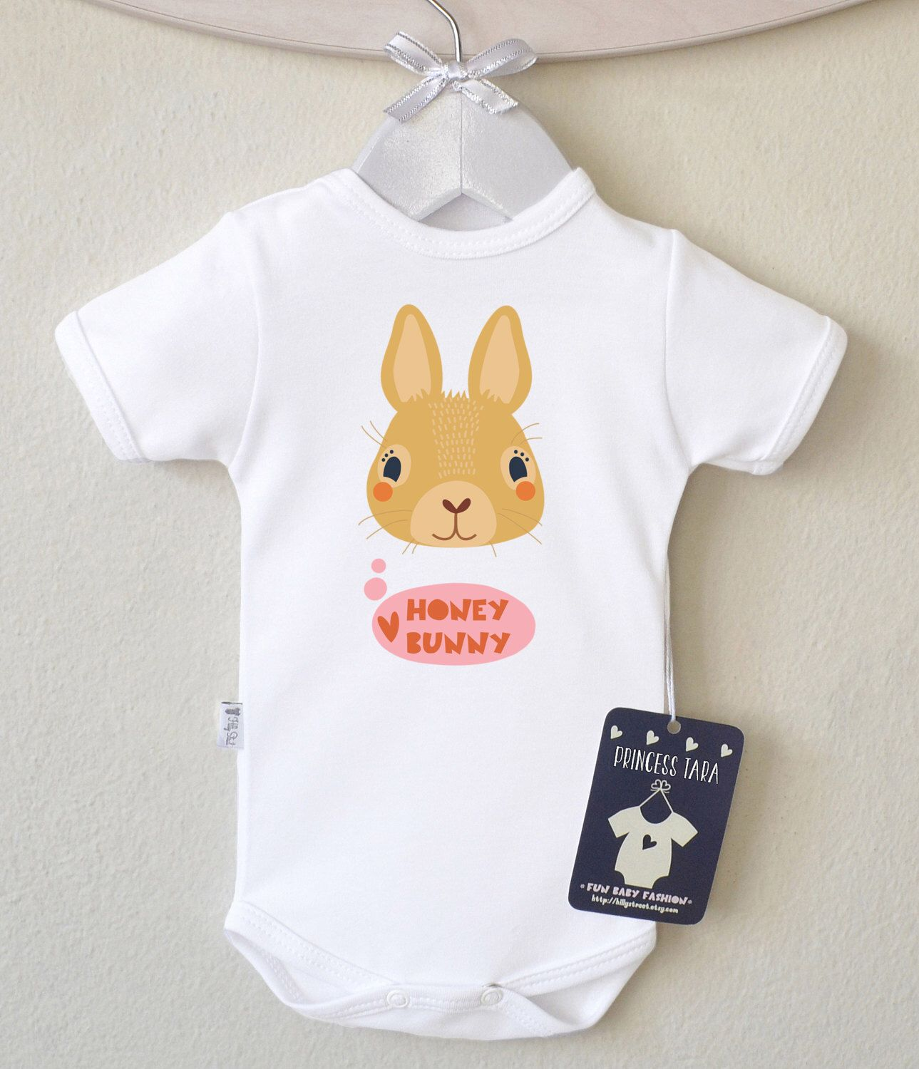 3f65782644db Funny Baby Girl Clothes. Rabbit Baby Girl Romper. Take Home Outfit. 1st  Birthday