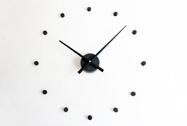 12 Dots Design Sticker Eva 70cm 100cm Kitchen Wall Clock Large