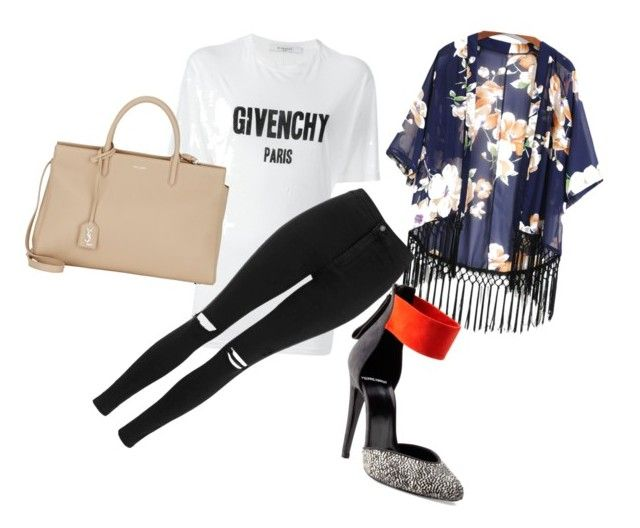 """""""Untitled #87"""" by eni-enni ❤ liked on Polyvore featuring Givenchy, Topshop, Pierre Hardy and Yves Saint Laurent"""