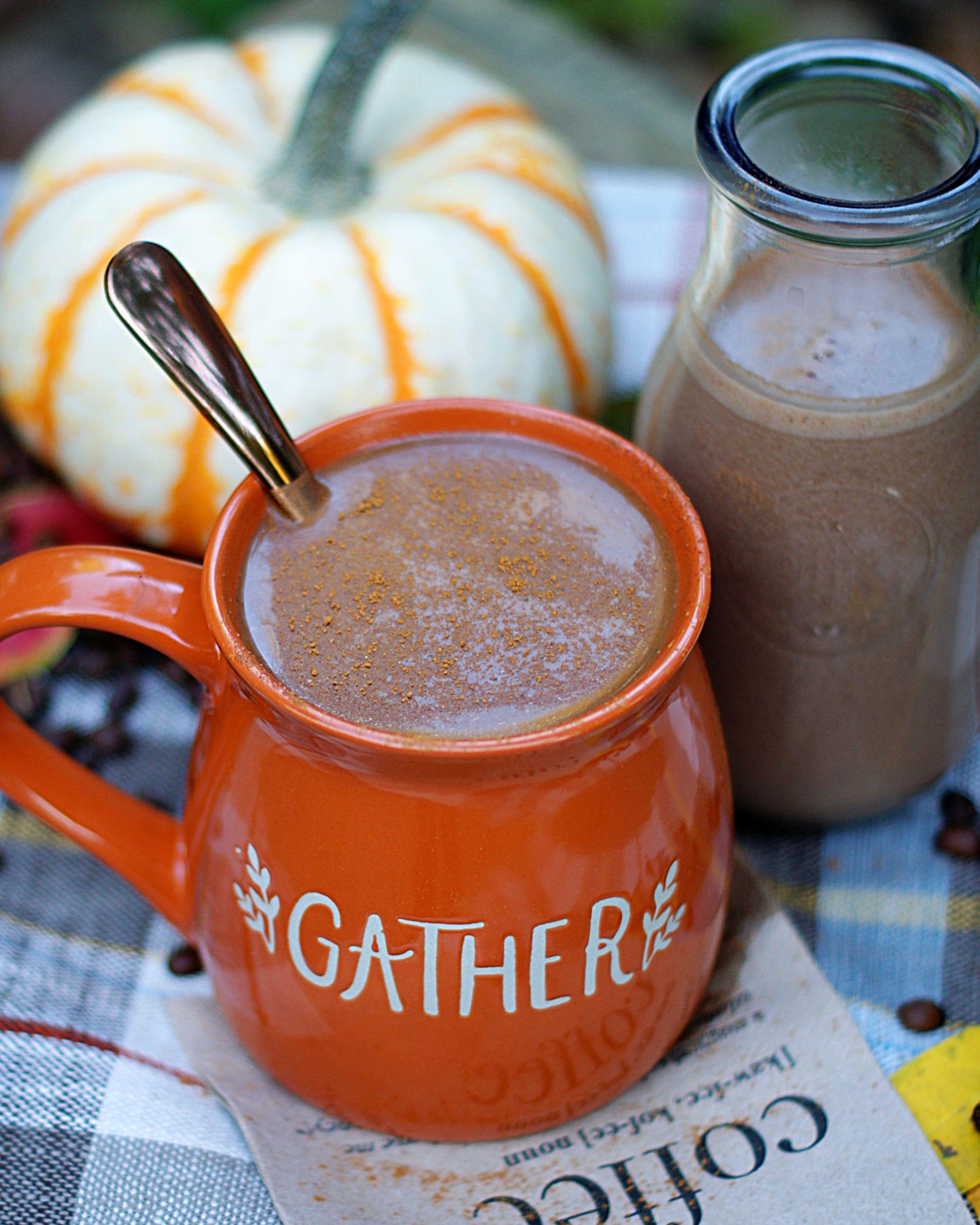 Pumpkin Mocha Latte Coffee Creamer