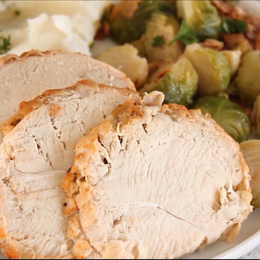 Instant Pot Boneless Turkey Breast Recipe (VIDEO) -   19 instant pot boneless turkey breast recipes ideas