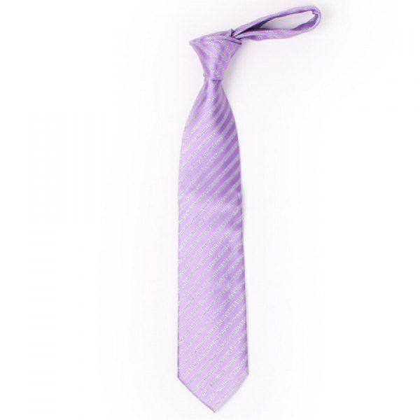 Stylish Twill Jacquard 8.5CM Width Light Purple Tie For Men #jewelry, #women, #men, #hats, #watches, #belts, #fashion
