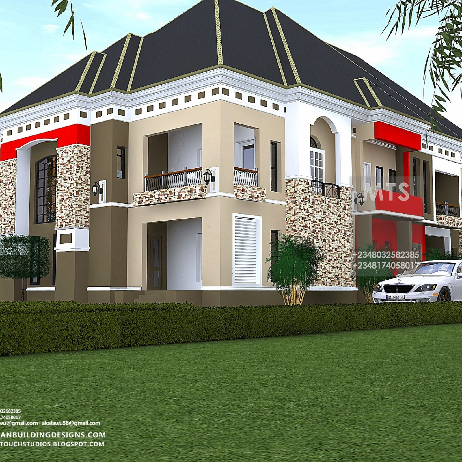 5 Bedroom Attached to 2 Bedroom Flat (RF A5002) - in 2020 ...
