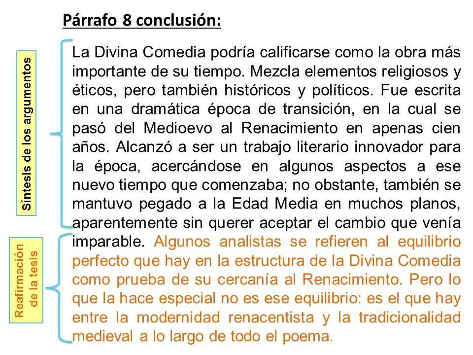 Ejemplo Párrafo De Conclusión Texto Argumentativo Tipos De Texto Parrafo