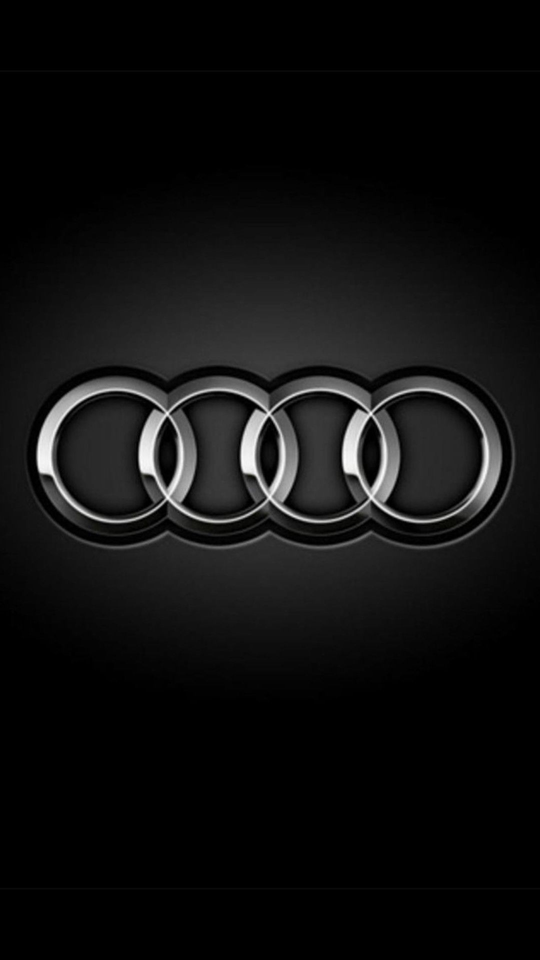Audi Logo Rings Dark Smartphone Wallpaper And Lockscreen Hd Iphone