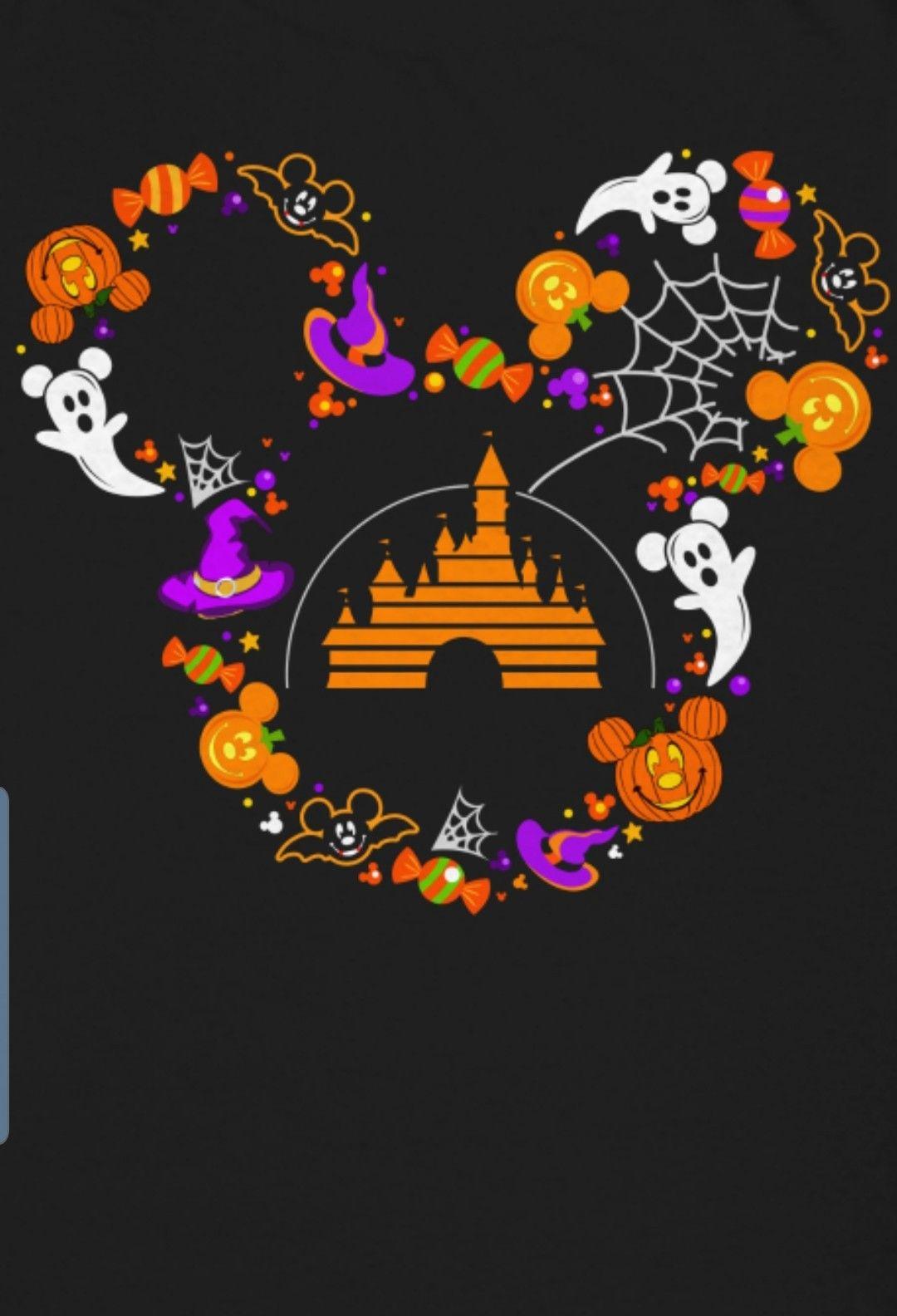 Halloween Disney Mickey Halloween Halloween Wallpaper Iphone Disney Halloween