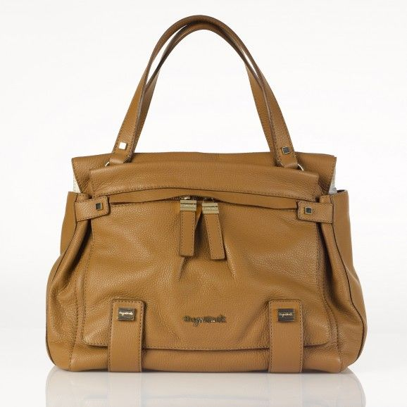 Leather Baby Changing Bag