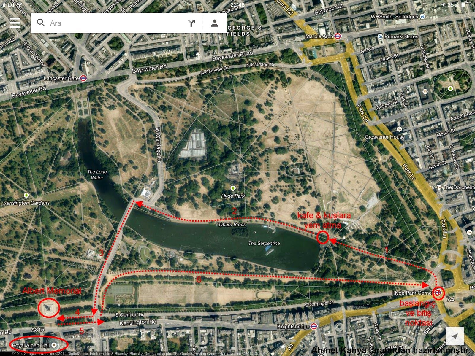 İngiltere Günlüğüm: Londra Gezi Planı: En İyi Yürüme Rotası