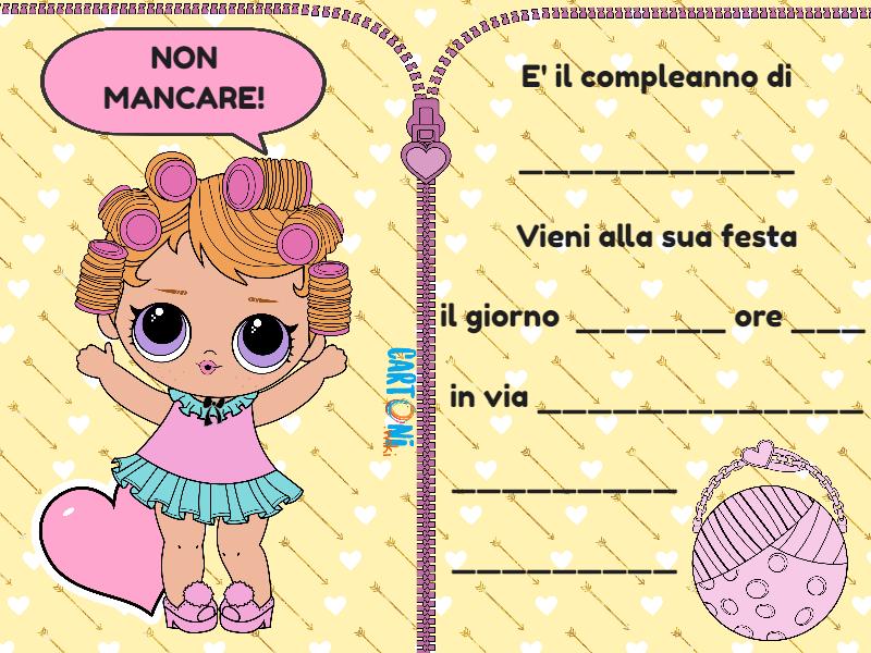 Lo Surprise Serie 3 Inviti Da Stampare Invito Lol Suprirse Confetti Pop Immagini Lol Festa Di Compleanno Disegni Stile Gufo