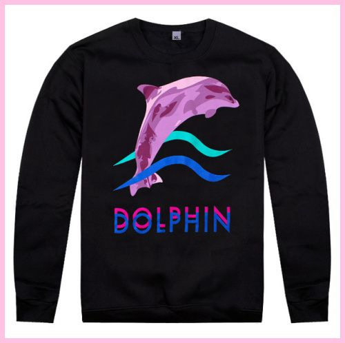 Pink Dolphin Hoodie for Sale  3d9e53e64d