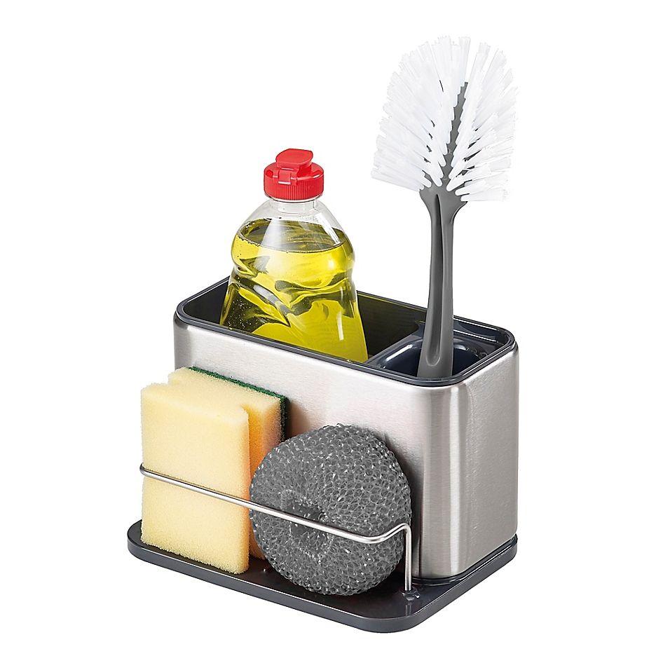 joseph joseph surface sink tidy in stainless steel in 2020 sink caddy kitchen sink caddy joseph joseph pinterest