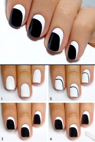 3 idées Nail art pour ongles courts