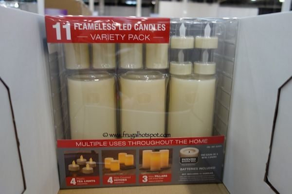 Flameless Candles With Remote Costco Flameless Led Candles Costco Variety Pack Sale  Variety Of