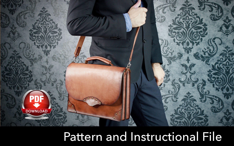 Leather Bag Pattern Pdf Unique Inspiration