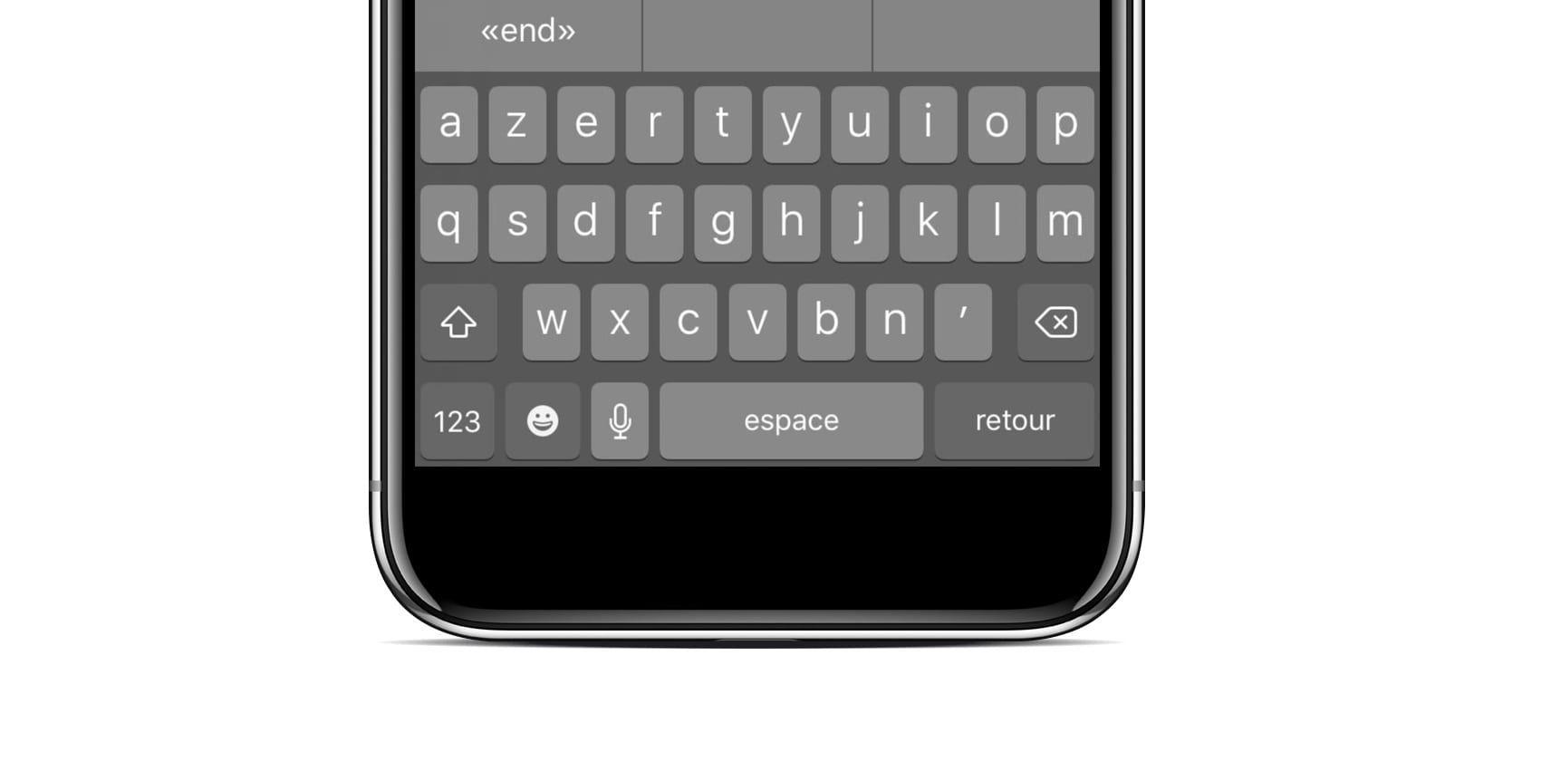 Get a dark keyboard on iphone with this free cydia tweak