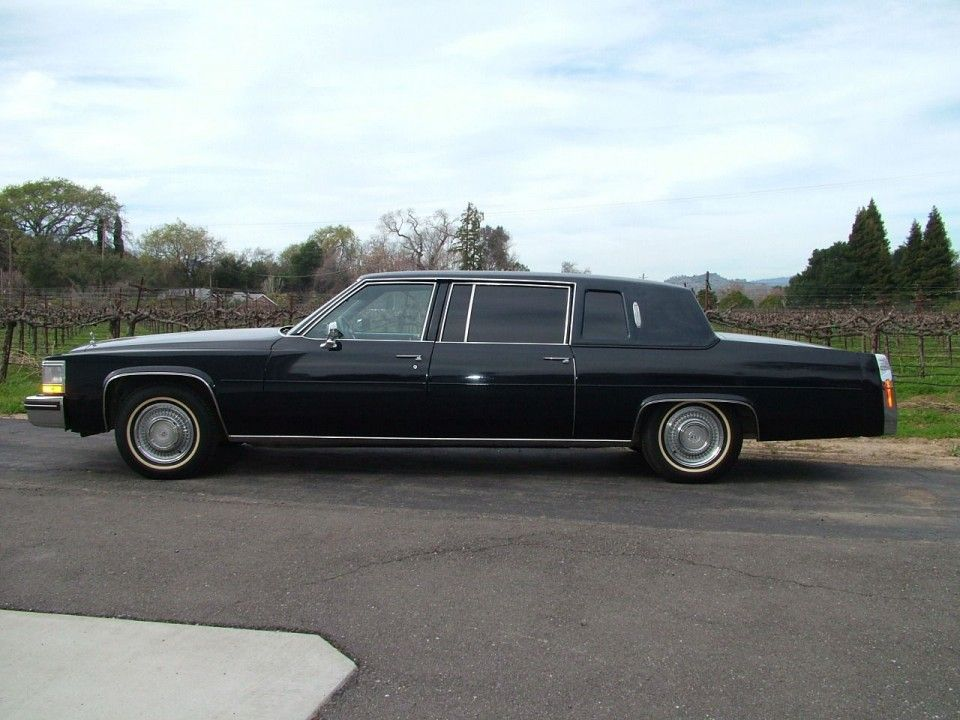 1984 Cadillac Fleetwood Limousine for sale | Cadillac for sale ...