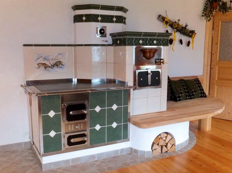 Kachelherd - Kochen über dem Feuer #News #Küche