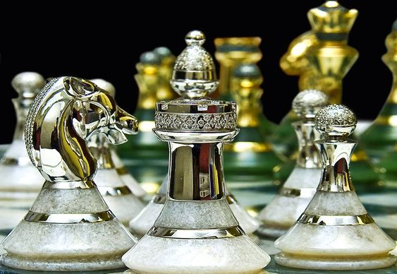 Jogos De Xadrez De Alto Luxo Com Pecas De Ouro E Diamantes Xadrez Jogo Tabuleiro De Xadrez Xadrez