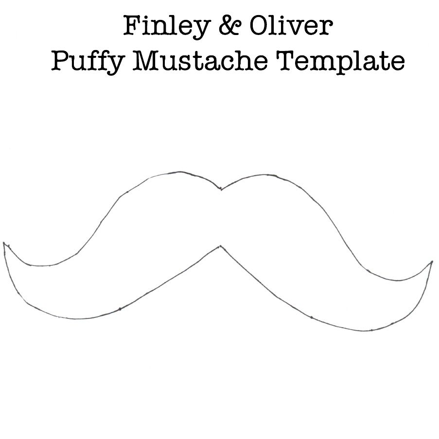 Puffy mustache template valentine 39 s day pinterest for Handlebars template tutorial