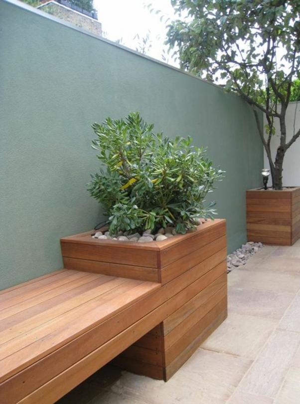 Banc D Exterieur En Pvc Banc De Jardin Mobilier De Jardin Leclerc Moderngarden Modern Garden In 2020 Garden Furniture Design Modern Garden Diy Garden Furniture