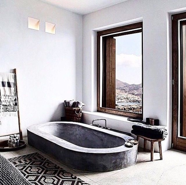 twin holiday homes overlooking the aegean h o m e d e c o r pinterest badezimmer. Black Bedroom Furniture Sets. Home Design Ideas