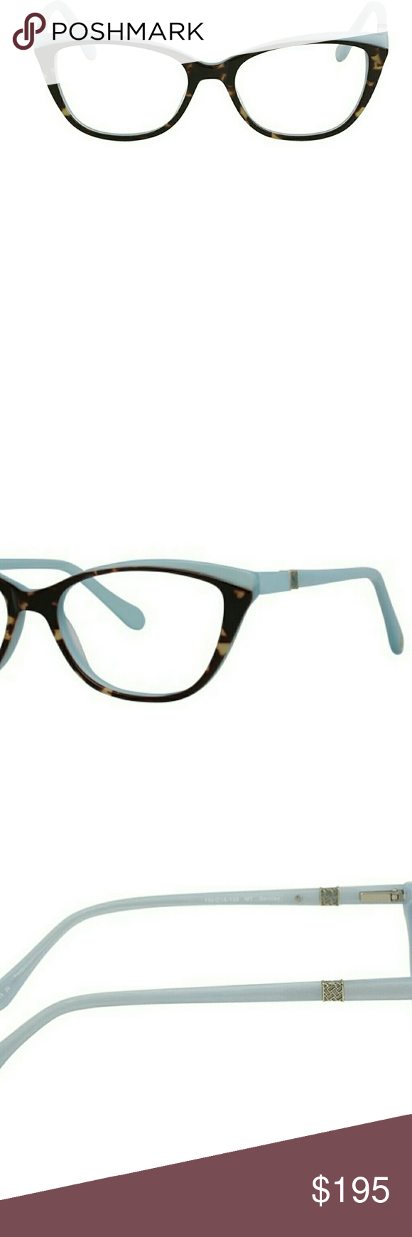 04fb3d42e6 Lilly Pulitzer Bentley Cat Eye Tortoise Glasses Lilly Pulitzer Bentley is a Full  Rim frame for