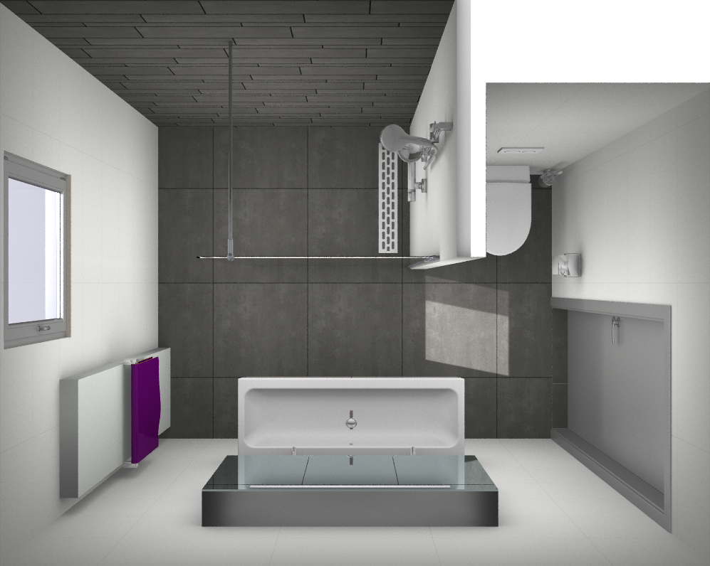 Ontwerp kleine badkamer kleine badkamer pinterest kleine - Badkamer meubilair ontwerp eigentijds ...