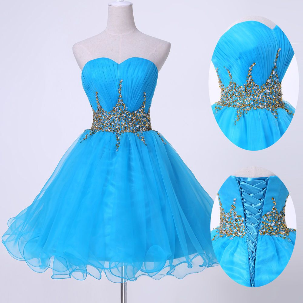 Girl\'s Short Mini Graduation Homecoming Party Prom Cocktail Club ...