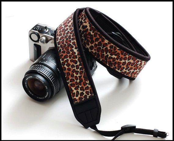Cool SLR camera strap in Interchangeable Design    by sizzlestrapz, $51.99