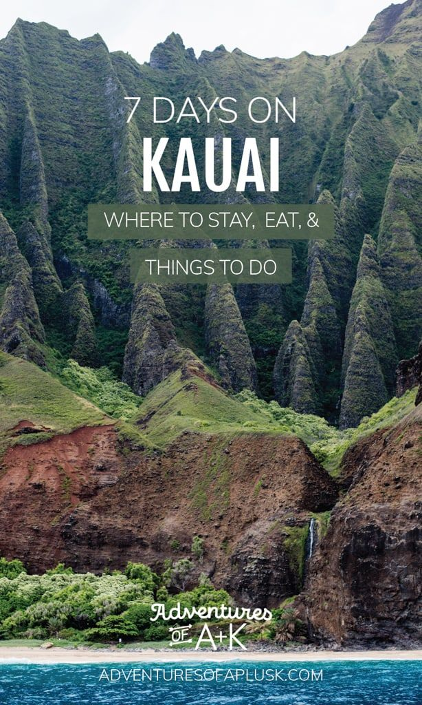 7 Day Kauai Itinerary: The best food, beaches, & t