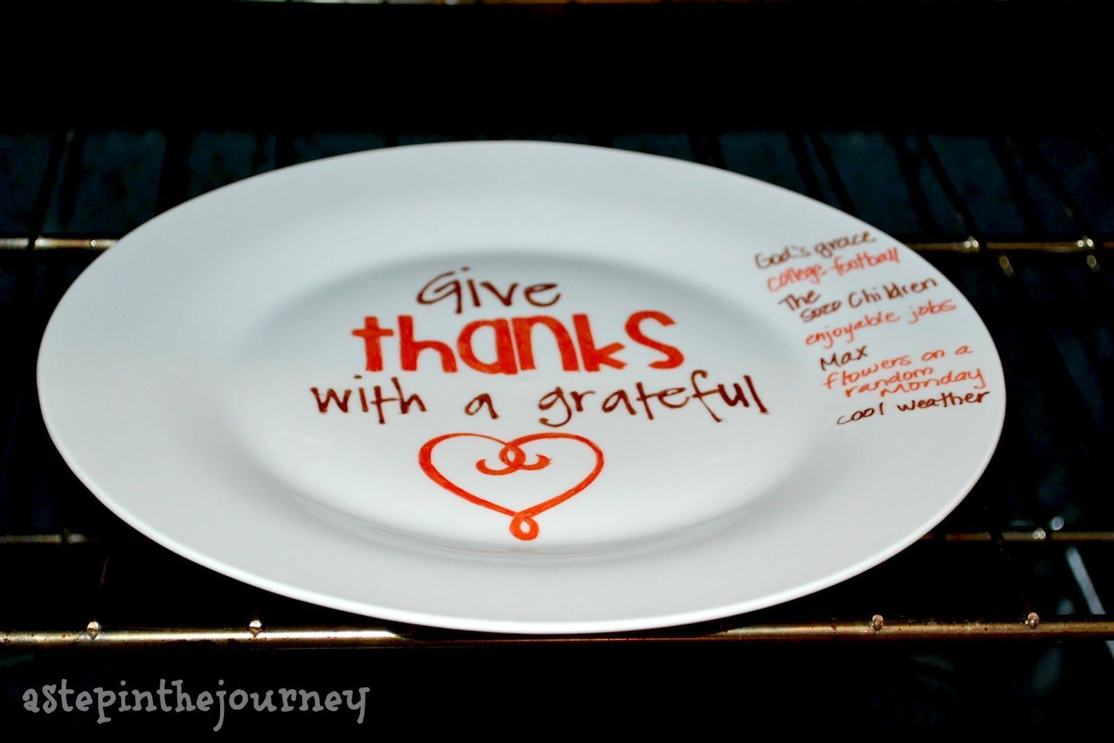 Give Thanks #sharpieplates Give Thanks | A Sharpie Plate #sharpieplates Give Thanks #sharpieplates Give Thanks | A Sharpie Plate #sharpieplates